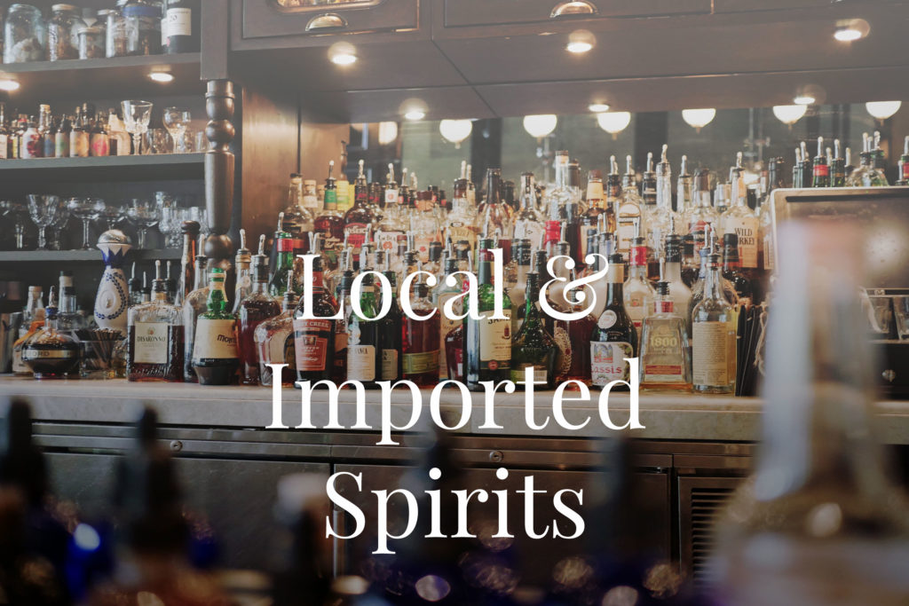 Local & Imported Spirits